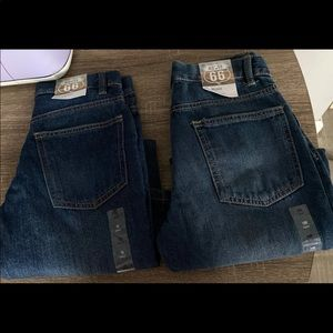 Two Route 66 Boys Jeans